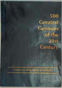 500 greatest geniuses of 21st century cover